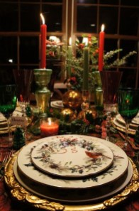 Cute Vintage Winter Table Decoration Ideas18
