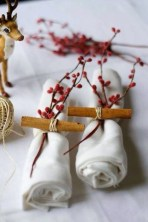Cute Vintage Winter Table Decoration Ideas22