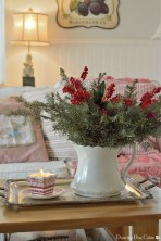 Cute Vintage Winter Table Decoration Ideas24