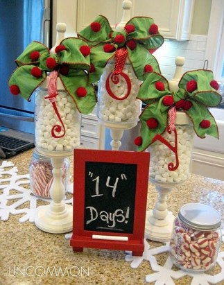 Cute Vintage Winter Table Decoration Ideas39