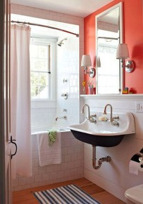 Easy Ideas For Functional Decoration Of Small Bathroom17