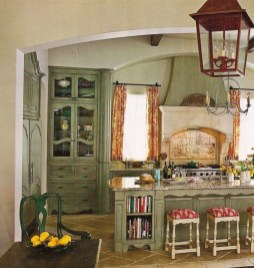 Flawless French Country Style Kitchen Decor Ideas26