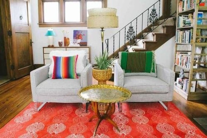 Impressive Bohemian Farmhouse Decorating Ideas For Your Living Room41