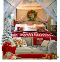Perfect Christmas Bedroom Decorating Ideas08
