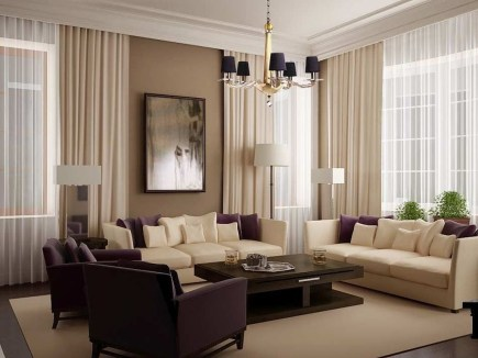 Unordinary Living Room Designs Ideas With Combinations Of Brown Color01