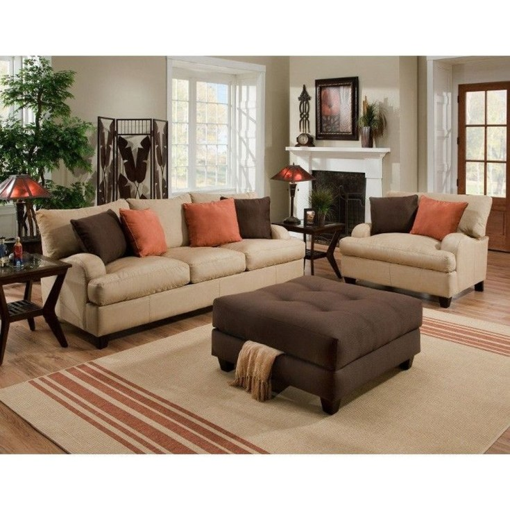 Unordinary Living Room Designs Ideas With Combinations Of Brown Color32