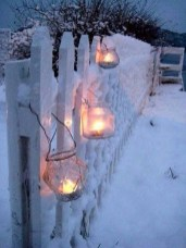 Vintage Outdoor Winter Lights Decoration Ideas20
