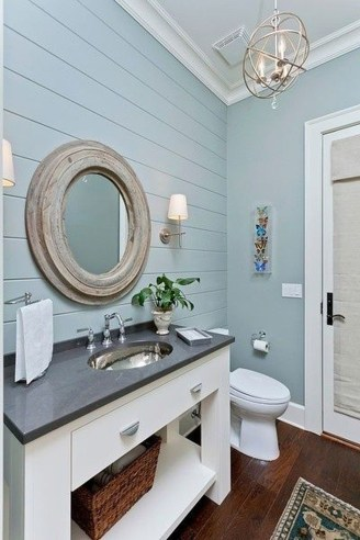 Affordable Beach Bathroom Design Ideas38