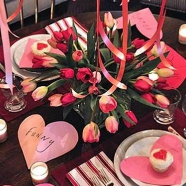 Elegant Table Settings Design Ideas For Valentines Day37