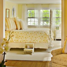 Perfect Yellow Bedroom Decoration And Design Ideas17