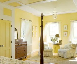 Perfect Yellow Bedroom Decoration And Design Ideas24