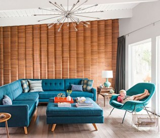 Relaxing Mid Century Modern Living Room Decor Ideas10