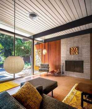 Relaxing Mid Century Modern Living Room Decor Ideas26