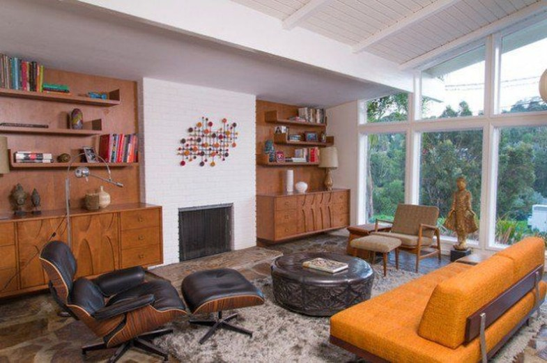 Relaxing Mid Century Modern Living Room Decor Ideas42