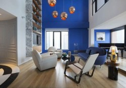 Wonderful Blue Studio Apartment Decor Ideas On A Budget38