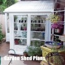 Awesome Shed Garden Plants Ideas01