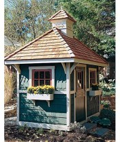 Awesome Shed Garden Plants Ideas10