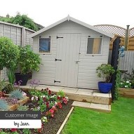Awesome Shed Garden Plants Ideas18