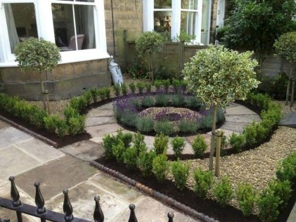 Comfy Low Maintenance Front Yard Landscaping Ideas05