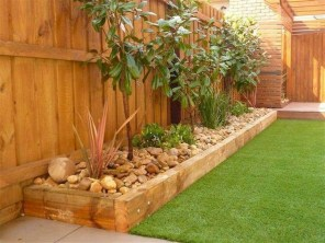 Comfy Low Maintenance Front Yard Landscaping Ideas28