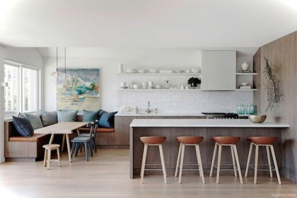 Creative Banquette Seating Ideas For Kitchen18