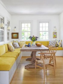Creative Banquette Seating Ideas For Kitchen19