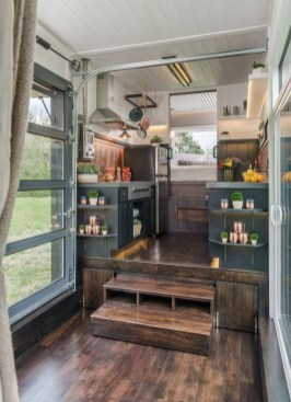 Lovely Tiny House Kitchen Storage Ideas07