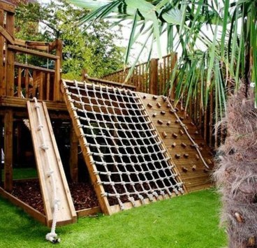 Wonderful Diy Playground Project Ideas For Backyard Landscaping01