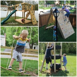 Wonderful Diy Playground Project Ideas For Backyard Landscaping17