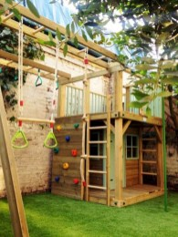 Wonderful Diy Playground Project Ideas For Backyard Landscaping28