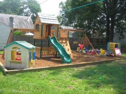 Wonderful Diy Playground Project Ideas For Backyard Landscaping39