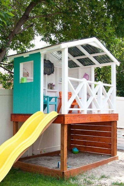 Wonderful Diy Playground Project Ideas For Backyard Landscaping45