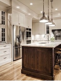 Captivating White Cabinets Design Ideas For Kitchen20