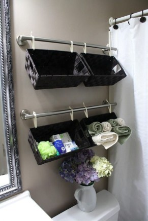 Charming Bathroom Storage Ideas36