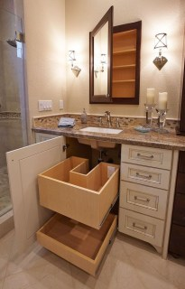 Charming Bathroom Storage Ideas42
