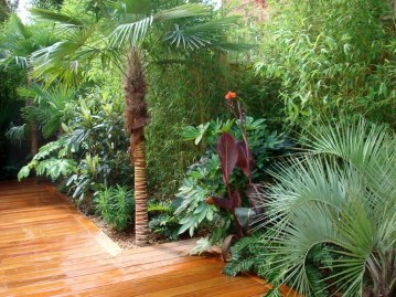 Wonderful Tropical Landscaping Ideas For Garden17