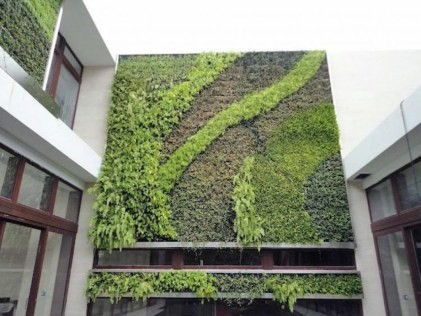 Cute Living Wall Décor Ideas For Indoor And Outdoor21