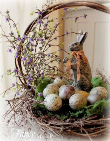 Fascinating Easter Holiday Decoration Ideas For Home46