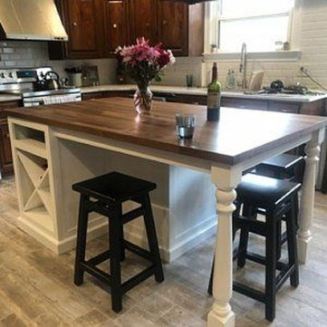 Stunning Kitchen Island Ideas With Seating27