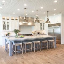 Stunning Kitchen Island Ideas With Seating32