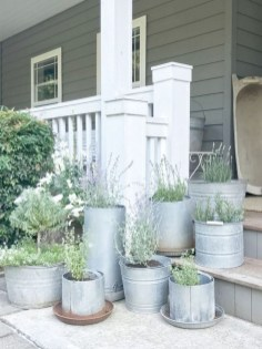 Adorable Porch Planter Ideas That Will Give A Unique Look01