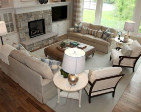 Affordable Family Room Décor Ideas For Your Family34