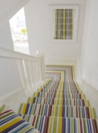 Beautiful Color Ideas For Your Stairs Decoration12