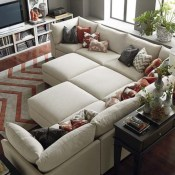 Comfortable Sutton U Shaped Sectional Ideas For Living Room16
