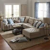 Comfortable Sutton U Shaped Sectional Ideas For Living Room28