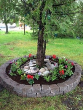 Fancy Diy Flower Beds Ideas For Your Garden43