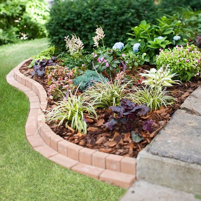 Fancy Diy Flower Beds Ideas For Your Garden46