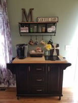 Latest Diy Coffee Station Ideas In Your Kitchen36