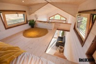 Rustic Tiny House Design Ideas With Two Beds36