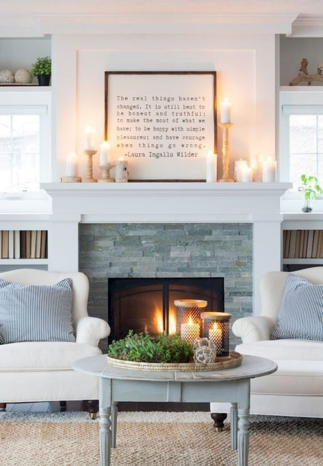 Superb Fireplace Design Ideas You Can Do It46